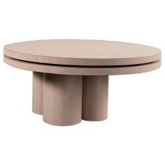 Postmodern Tiered Swiveling Coffee Table