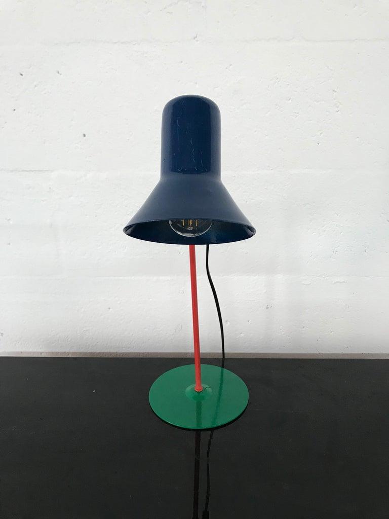 Post modern desk task table lamp by Veneta, Italy, 1994.
