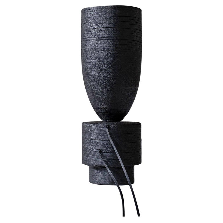 Pot Vase Leather, Arno Declercq For Sale