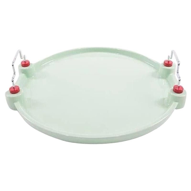 Potato Ceramic Tray, by George Sowden from Memphis Milano