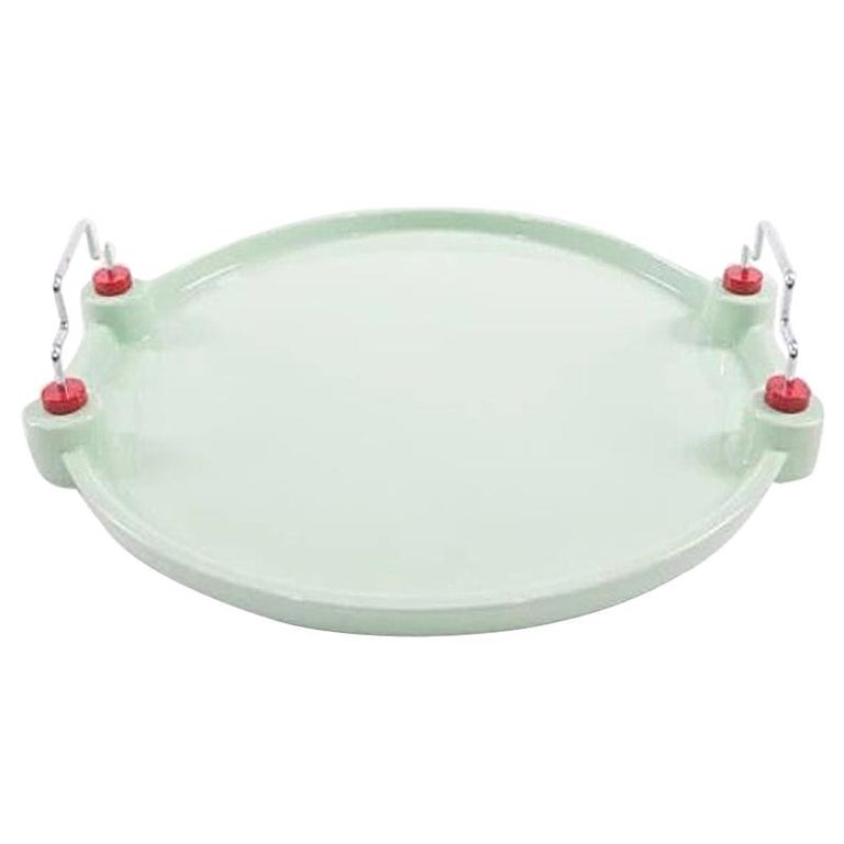 Potato Ceramic Tray, by George Sowden from Memphis Milano For Sale