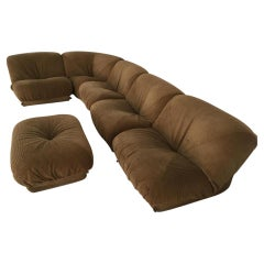 Potato Modular Sofa by Airborbe, France Mid-Century Modern