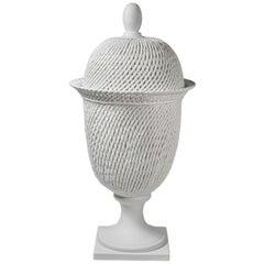 Potiche Palladio White Table/Floor Lamp