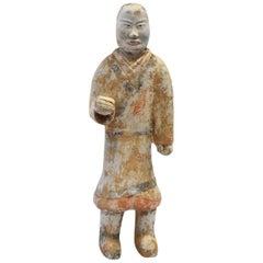 Pottery Figure Man, Han Style Terracotta