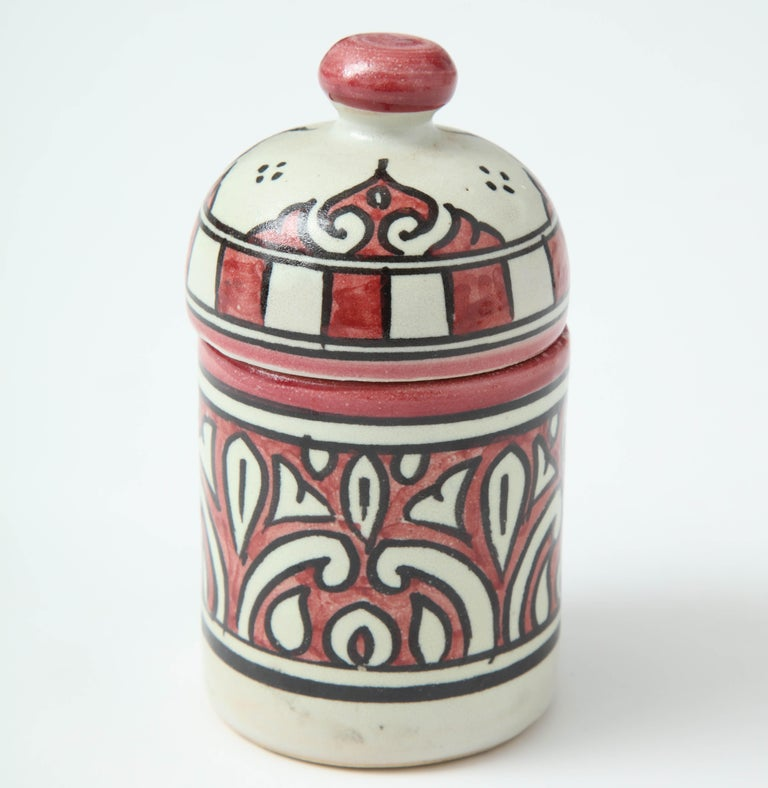 Pottery from Morocco. Inspired by Swedish midcentury style like Stig Lindberg.