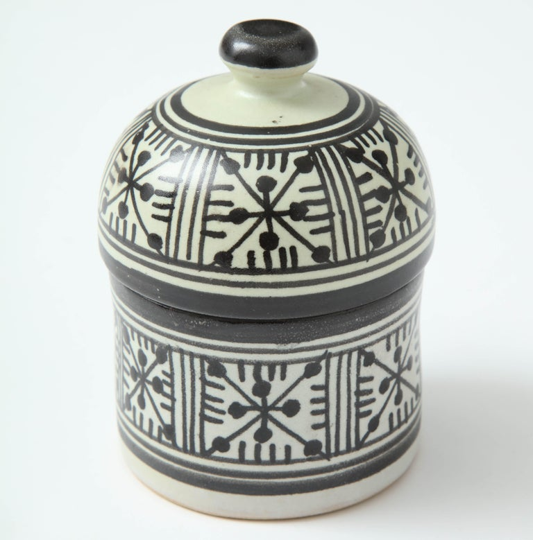Pottery from Morocco. Inspired by Swedish midcentury pottery like Stig Lindberg.
