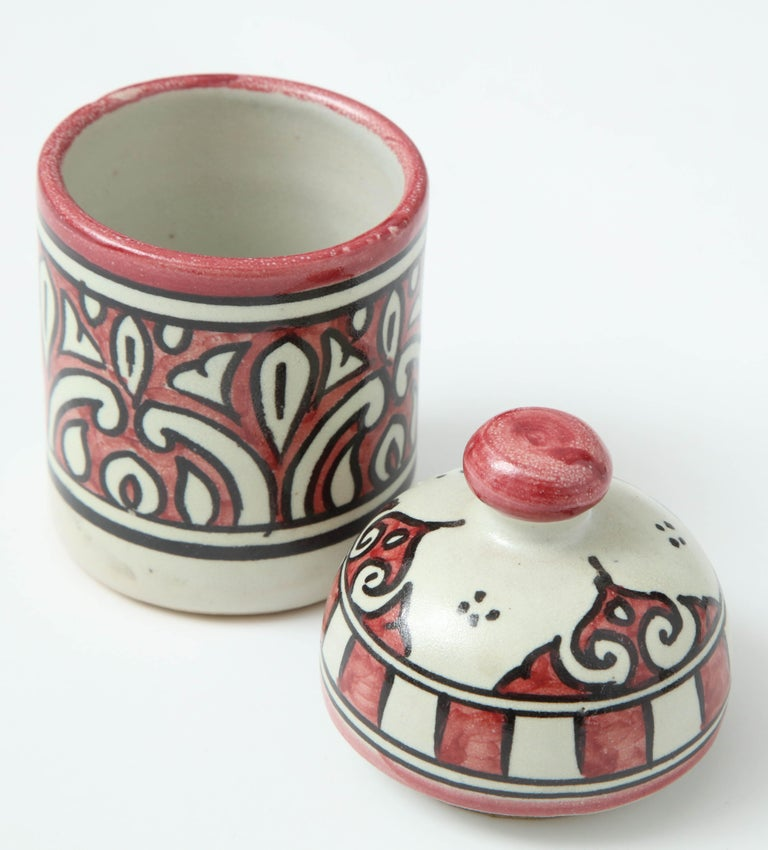 Hand-Crafted Pottery from Morocco For Sale