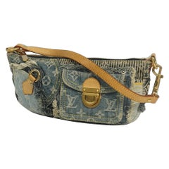 Pouchy  handbag  unisex  pouch M95382  blue