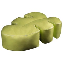 Pouf Philo Soft, for Outdoor, Waterproof Eco-Leather, Italy
