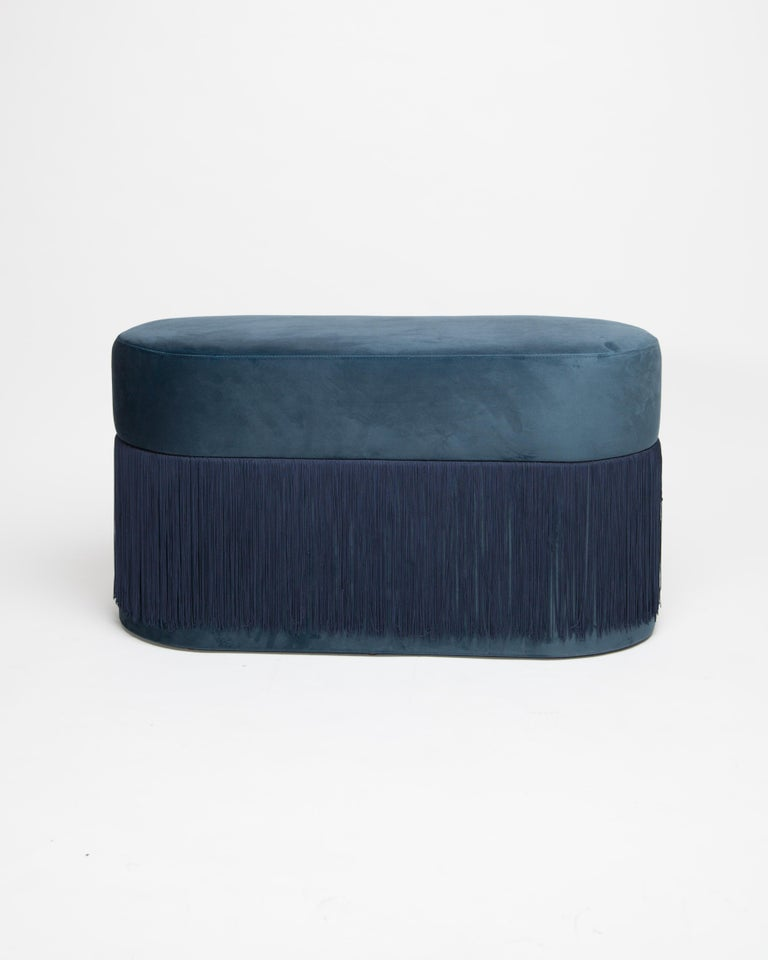 Modern Pouf Pill L by Houtique For Sale