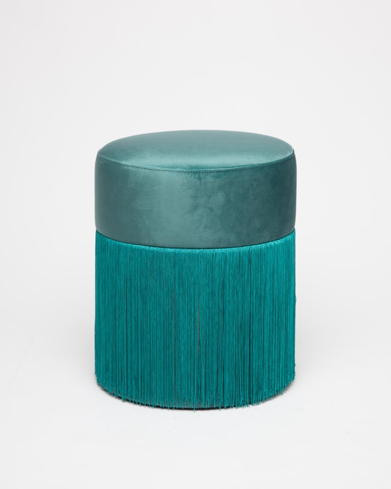 Contemporary Pouf Pill S by Houtique For Sale
