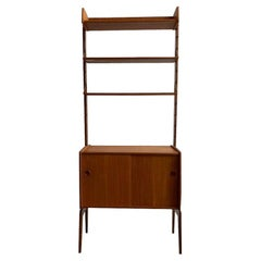 Poul Cadovius for Royal System Free Standing Modular Teak Wall Unit