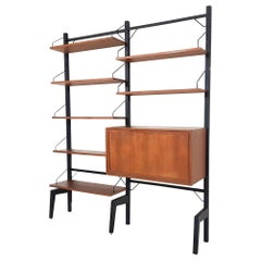 Poul Cadovius for Royal System Wall Unit or Shelving System, Denmark, 1960s
