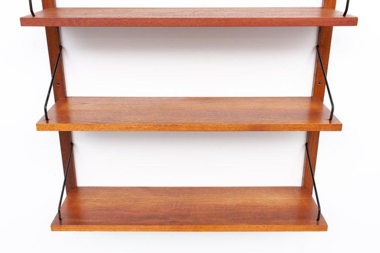 Danish Poul Cadovius Hanging Bookcase Cado Model Royal, Denmark For Sale