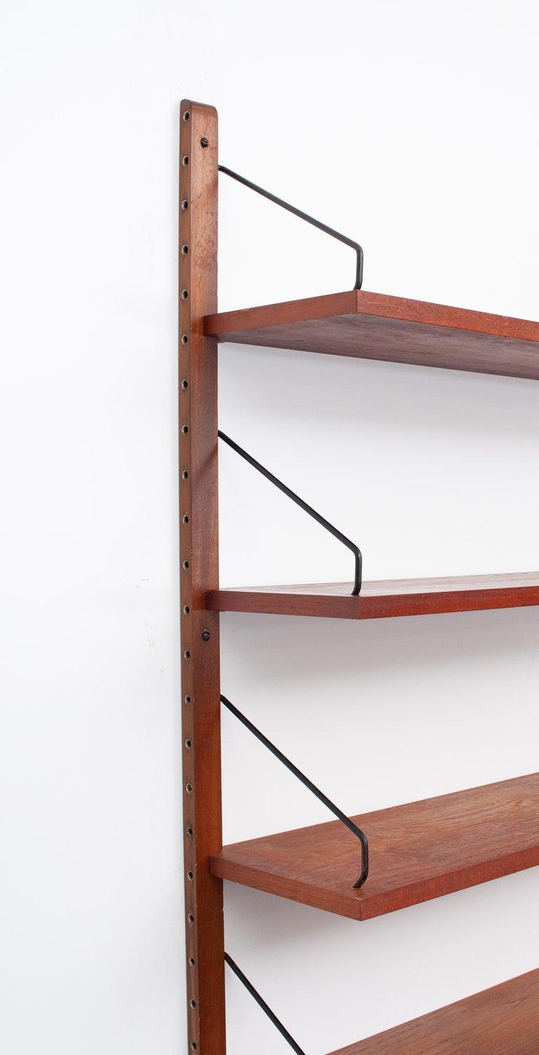 Poul Cadovius Hanging Bookcase Cado Model Royal, Denmark For Sale 1