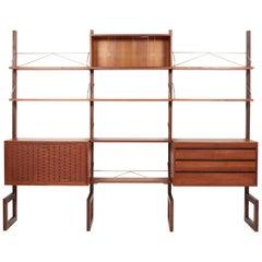 Poul Cadovius Modular Shelves Denmark, 1960s
