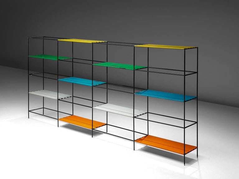 Danish Poul Cadovius Modular Shelving System For Sale