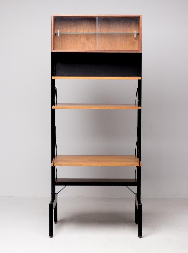 Poul Cadovius Royal System Room Divider with Desk For Sale 1
