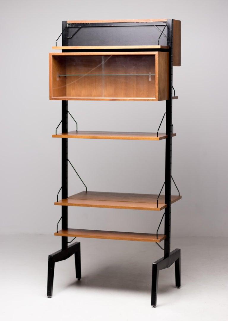 Poul Cadovius Royal System Room Divider with Desk For Sale 2