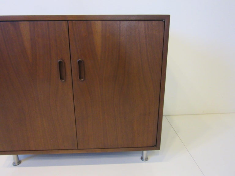 Mid-Century Modern Poul Cadovius Walnut Cabinet / Credenza for Cado For Sale