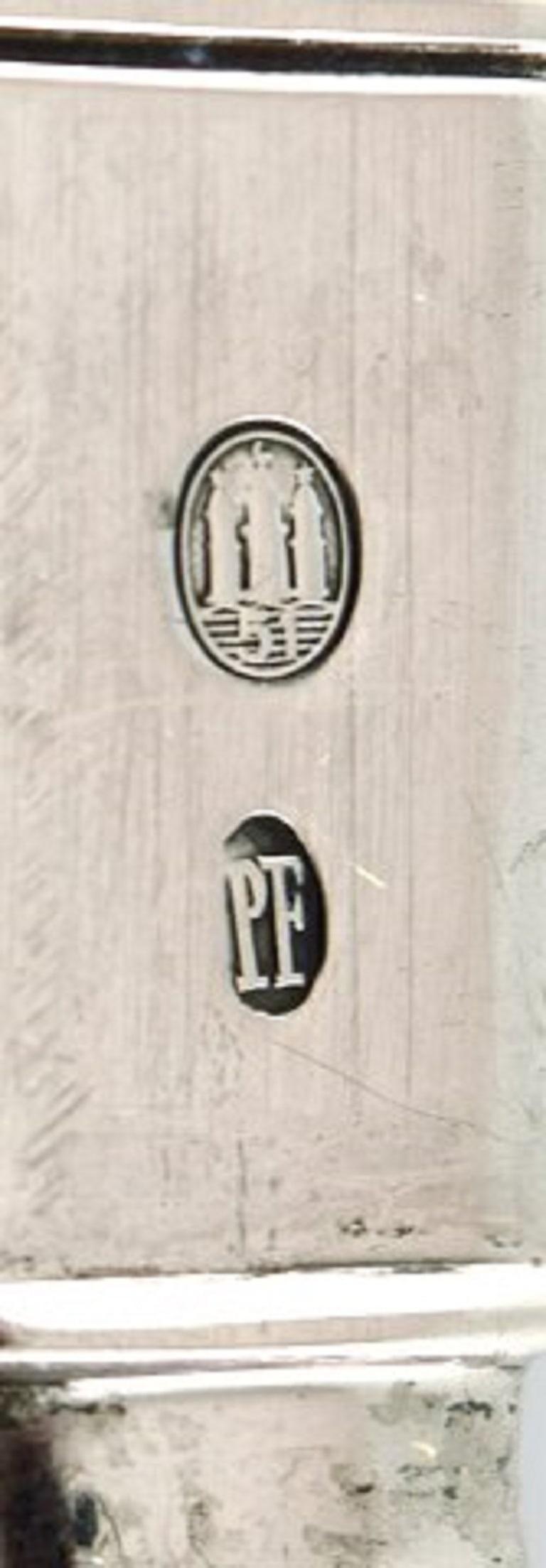 Poul Frigast, Danish Silversmith, Cake Knife in Silver, 1951 In Good Condition For Sale In Copenhagen, Denmark