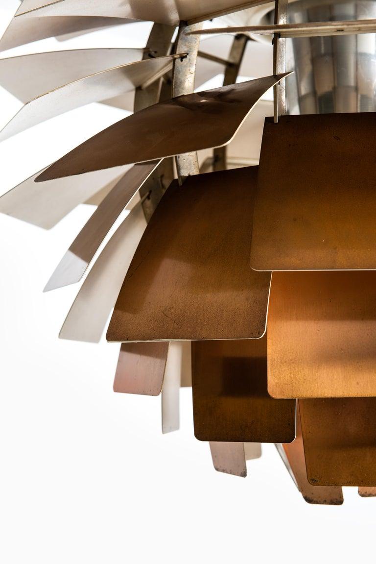 Scandinavian Modern Poul Henningsen First Edition Artichoke by Louis Poulsen in Denmark For Sale