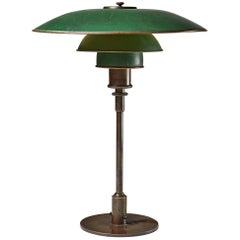 Poul Henningsen 4/3 Table Lamp in Brass and Copper, 1926-1928