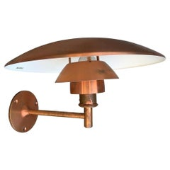 Poul Henningsen 4 Louis Poulsen PH Sconce in Copper