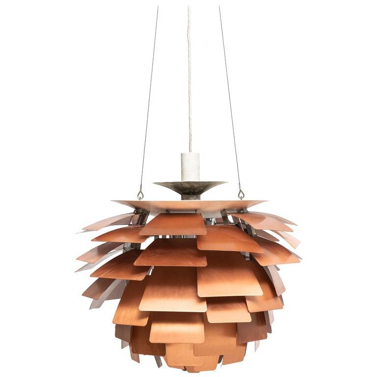 Poul Henningsen Artichoke Ceiling Lamp Produced by Louis Poulsen in Denmark For Sale