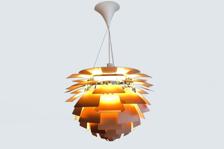Danish Poul Henningsen Artichoke Lamp, Louis Poulsen, Denmark For Sale