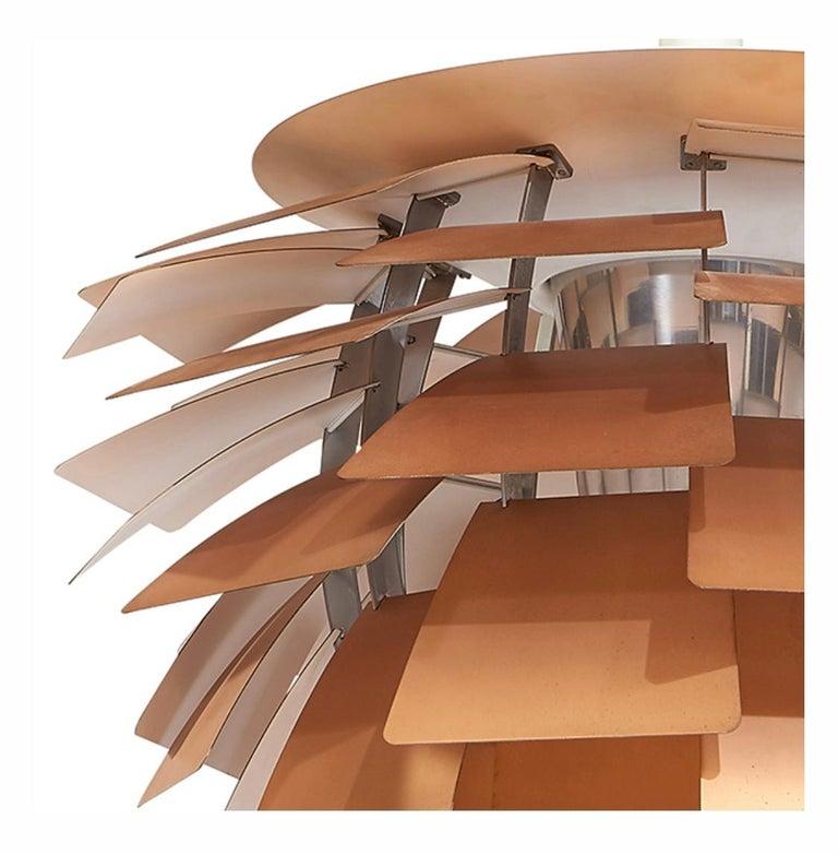 Danish Poul Henningsen Artichoke Pendant Light For Sale