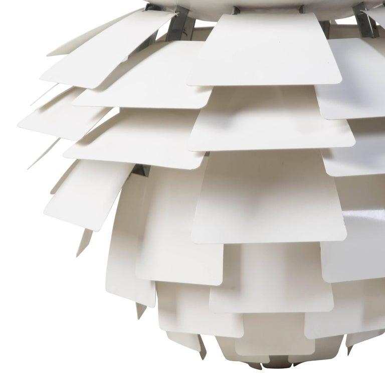 Wood Poul Henningsen Artichoke Pendant Light For Sale