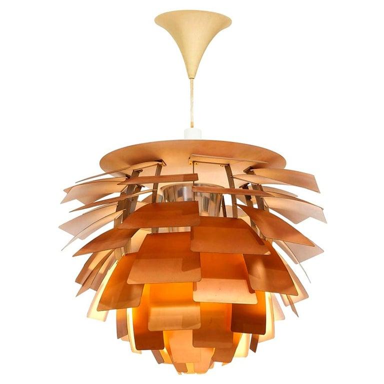 Poul Henningsen Artichoke Pendant Light For Sale