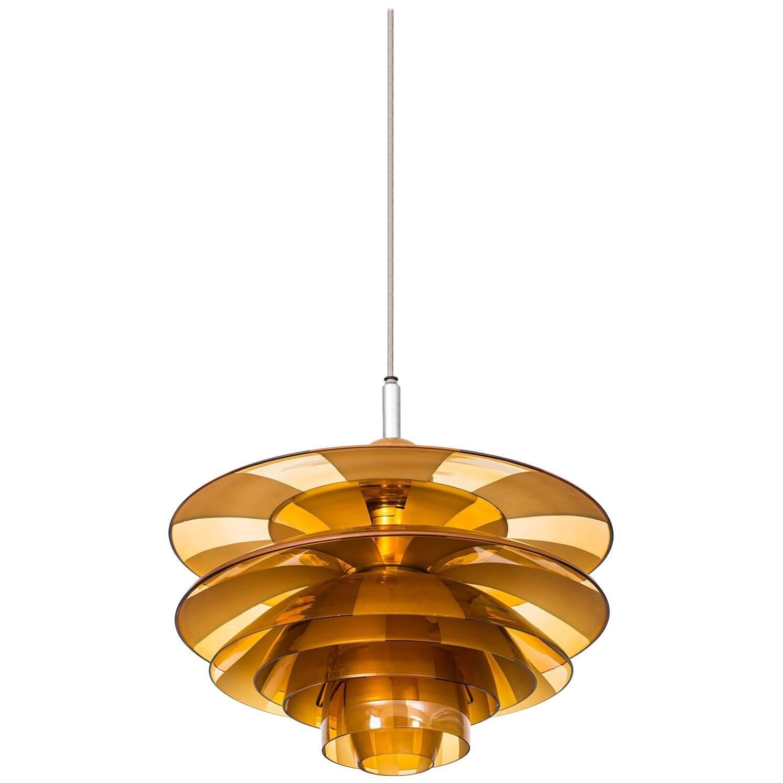 Poul Henningsen Ceiling Lamp Model PH-Septima 5 by Louis Poulsen in Denmark