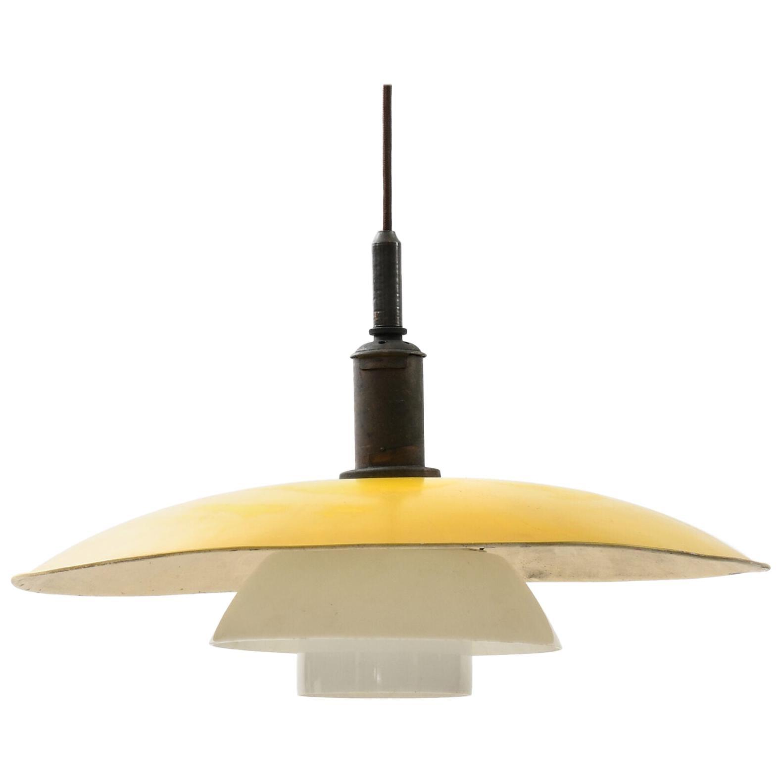 Poul Henningsen Ceiling Lamp PH-5/5 Produced by Louis Poulsen in Denmark