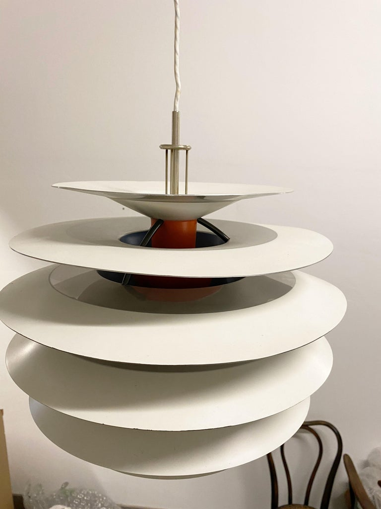 Danish Poul Henningsen Contrast Pendant for Louis Poulsen For Sale