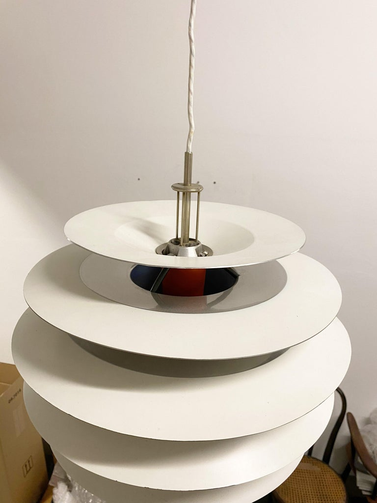 Mid-20th Century Poul Henningsen Contrast Pendant for Louis Poulsen For Sale