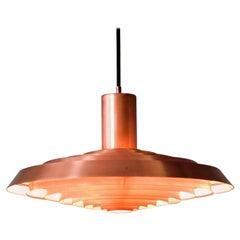 Poul Henningsen Copper Pendant Tallerken Langeline Louis Poulsen