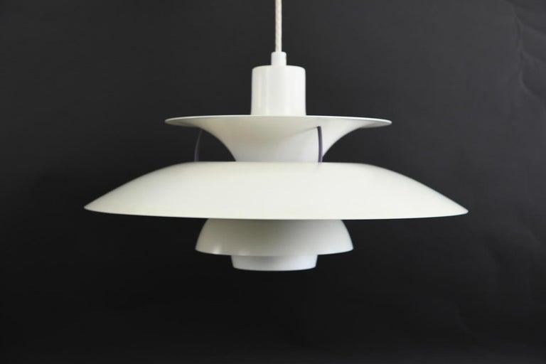 Mid-Century Modern Poul Henningsen for Louis Poulsen PH 5 Pendant Light For Sale