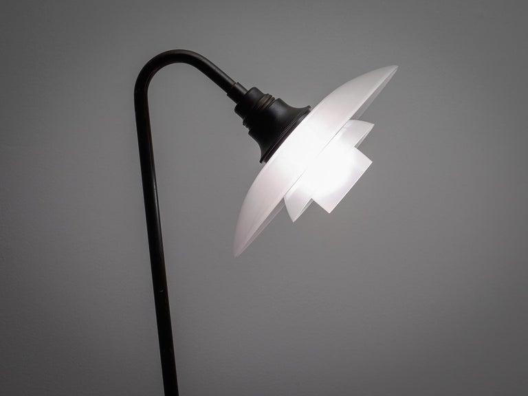 Danish Poul Henningsen for Louis Poulsen PH-7 Floor Lamp For Sale