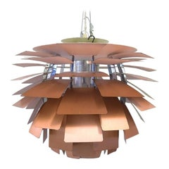 "Poul Henningsen for Louis Poulsen, The ""Artichoke"" Pendant Lamp, circa 1970"