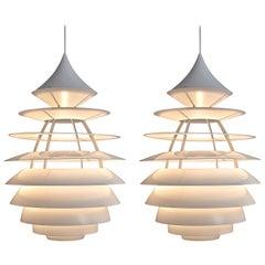 Poul Henningsen & Kurt Nørregaard Giant 'LP Centrum' Pendant Lamp