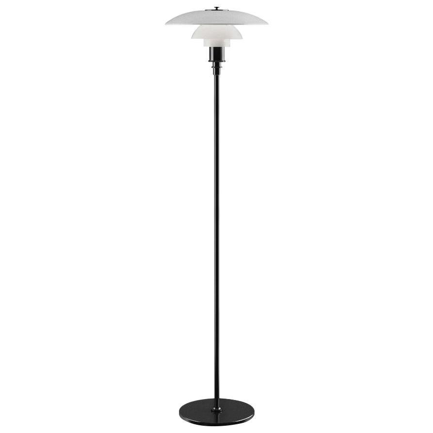 Poul Henningsen Opaline Glass PH 3½-2½ Floor Lamp for Louis Poulsen