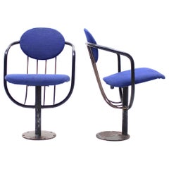 Poul Henningsen, Pair of Foldable Theatre Chairs for the Betty Nansen Theatre, 1