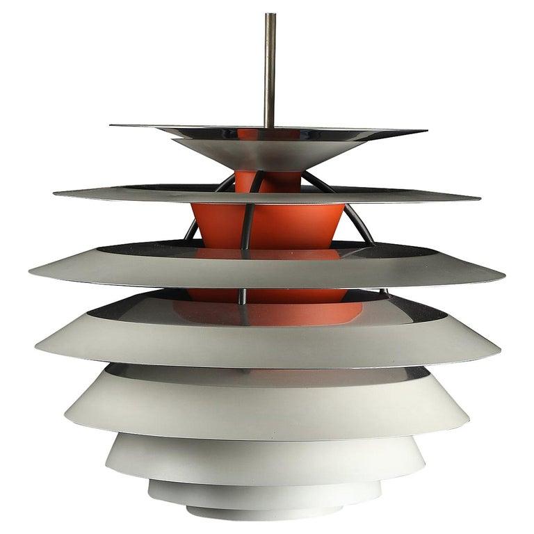 """Poul Henningsen, Pendant Light, Model """"Contrast"""" For Sale"""
