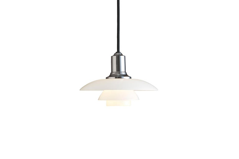 Mid-Century Modern Poul Henningsen Ph 2/1 Pendant For Sale
