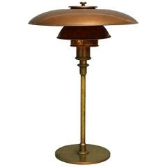 Poul Henningsen, PH 3/2 Table Lamp, Early Model