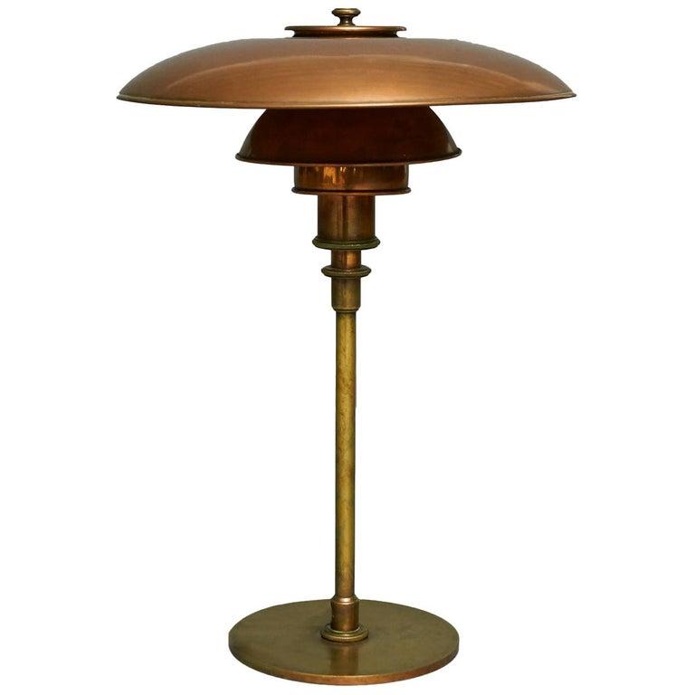 Poul Henningsen, PH 3/2 Table Lamp, Early Model For Sale