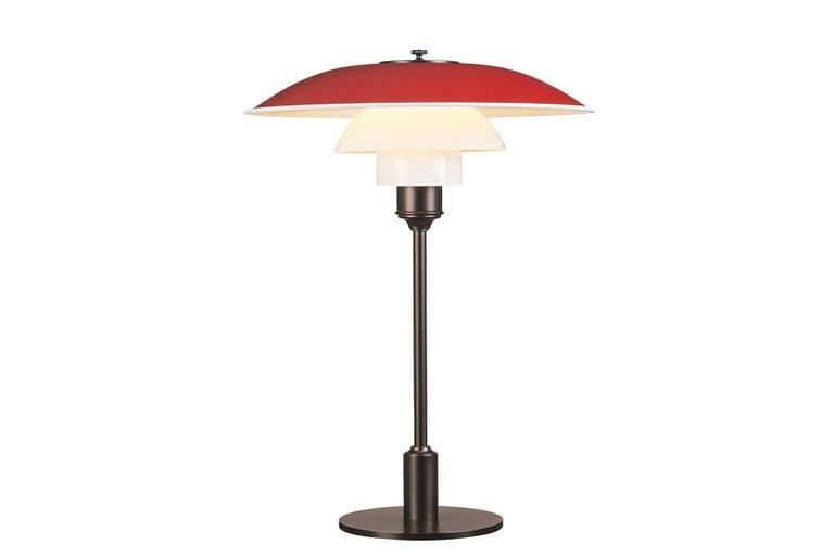 American Poul Henningsen Ph 3½-2½ Table Lamp For Sale