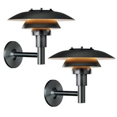 Poul Henningsen PH 3/2.5 Outdoor Wall Light for Louis Poulsen